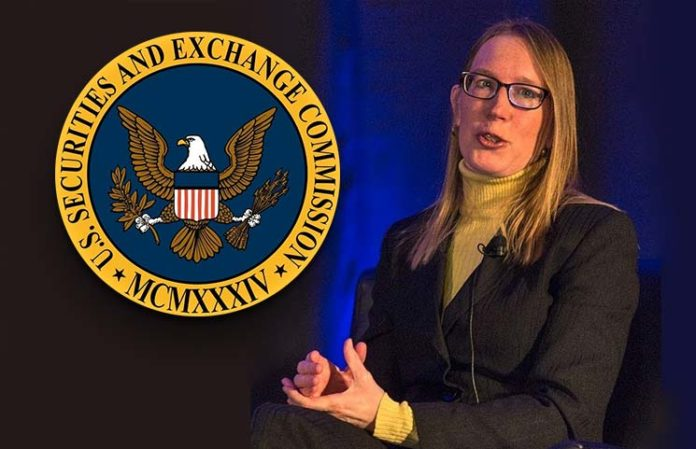 SEC-Commissioner-Hester-Peirce-Dissents-with-the-SEC-696x449
